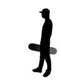 скейтбордист Стоковая Фотография RF
