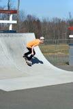 скейтборд пандуса Стоковое фото RF