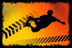 скейтборд плаката Стоковые Фотографии RF