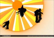 скейтборд Стоковое Фото