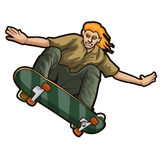 скейтбордист Стоковые Фотографии RF