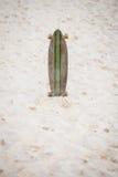 Скейтборд на пляже Стоковое фото RF