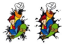 скейтборд Стоковое Изображение