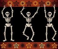 скелеты пугающие Стоковая Фотография RF