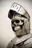 скелет рыцаря Стоковое фото RF