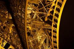 Скелет Эйфелевой башни Стоковое Изображение RF