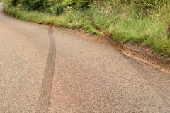 скиды аварии Стоковое фото RF