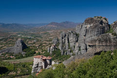 скиты meteora Греции Стоковые Изображения