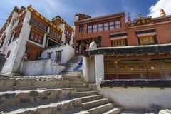 Скит в Ladakh, Индия Diskit стоковая фотография rf