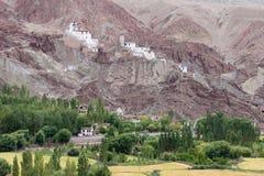 Скит в Ladakh, Индия Basgo буддийский Стоковая Фотография RF