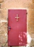 скит двери старый Стоковые Фото