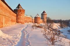 скит крепости Стоковые Фото