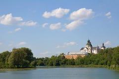 Скит - крепость Carmelites, Berdychiv стоковое фото rf