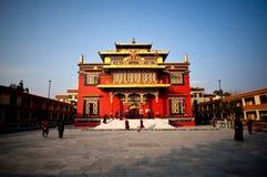 скит Непал shechen стоковое изображение