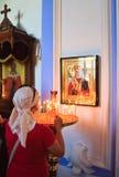 скит новая Россия 2007 23rd Иерусалим июнь Istra зима России зоны открытки kremlin moscow dmitrov собора предположения Стоковая Фотография RF