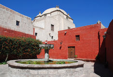 Скит Санта Catalina, Arequipa, Перу стоковая фотография rf