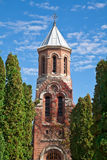 скит церков arges стоковые изображения