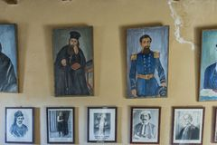 Скит Arkadi Крит стоковое фото