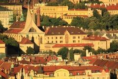 Скит Emmaus в Прага Стоковое фото RF