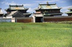 Скит Erdene Zuu, Kharkhorin, Монголия Стоковые Фотографии RF