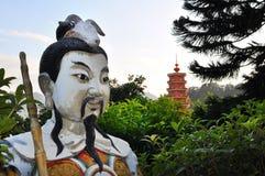 скит Hong Kong buddhas 10 тысяч Стоковая Фотография RF