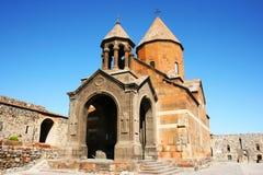 Скит Khor Virap в Армении стоковые фото