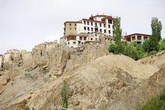 скит lamayuru ladakh Индии стоковые изображения rf