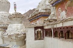 скит lamayuru ladakh Индии стоковая фотография