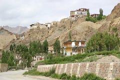 скит lamayuru ladakh Индии стоковое изображение rf