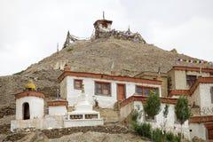 скит lamayuru ladakh Индии стоковое изображение