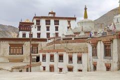 скит lamayuru ladakh Индии стоковые фотографии rf