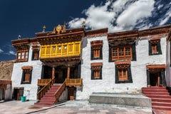 Скит Likir Ladakh, Индия стоковая фотография rf