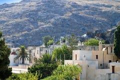 Скит Preveli на острове Крита стоковые фотографии rf