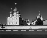 скит rostov Россия черная белизна стоковая фотография