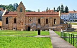 Скит Santa Clara Velha в Coimbra стоковые изображения rf