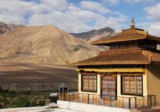 Скит Spituk в Ladakh, Индии Стоковое фото RF
