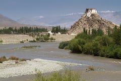 Скит Stakna, Ladakh, Индии Стоковые Изображения RF