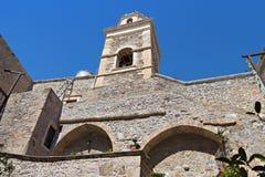 Скит Toplou на острове Крита в Греции стоковые изображения