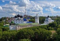 Скит Uspensky Trifonov в Kirov, России стоковая фотография rf