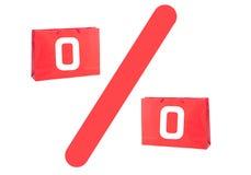 Скидка или знак или символ продажи стоковое фото rf