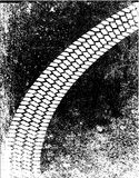 Скид Марк Grunge Стоковые Изображения RF