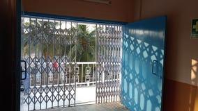 Складные ворота стоковые фотографии rf