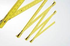 складывая измеряя ручка стоковое фото rf