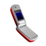 складывая мобильный телефон иллюстрация вектора