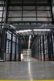 Склад коммерчески здание для хранения товаров Стоковая Фотография RF