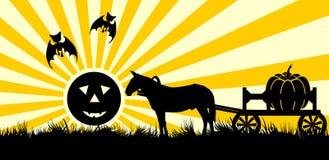 склонение halloween иллюстрация вектора