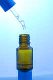 склянка капельницы медицинская Стоковое фото RF