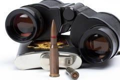 склянка пуль биноклей Стоковое Изображение RF
