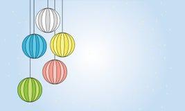 Склянка рождества Стоковое фото RF