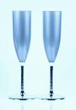 склянки шампанского Стоковое Фото